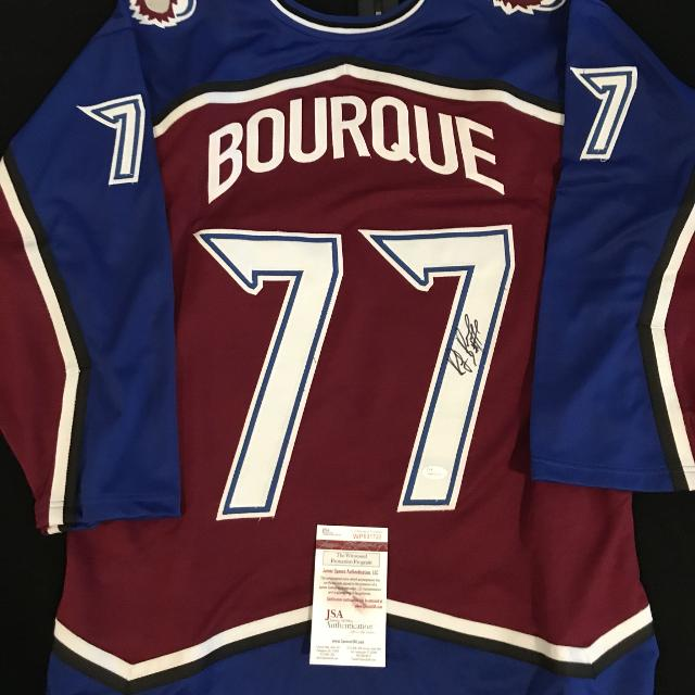 promo code 88894 2be2e Ray Bourque signed Colorado Avalanche jersey with JSA COA!!!