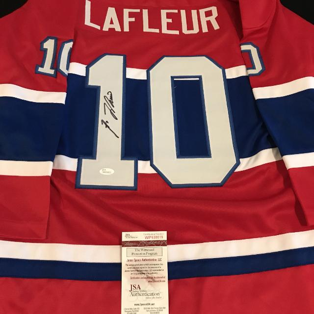 huge discount 617fa dabcb Guy Lafleur signed Montreal Canadiens jersey with JSA COA!!!