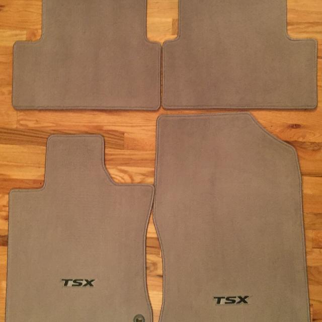 2010 Acura Tsx All Weather Floor Mats
