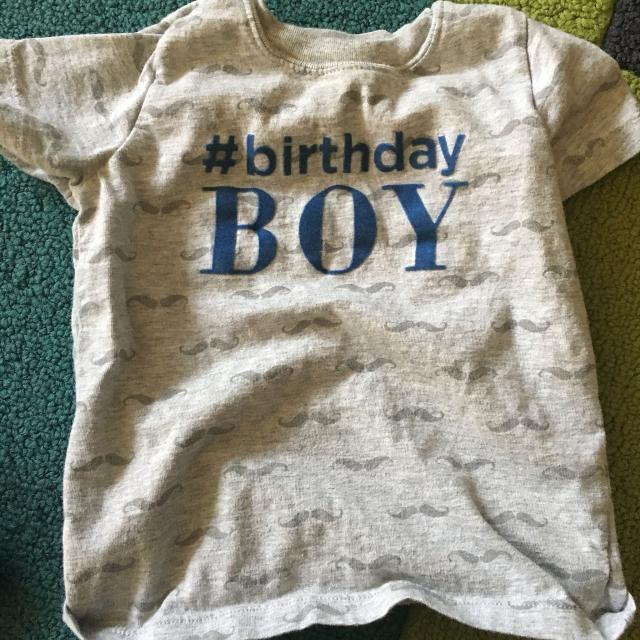 18 Month Birthday Boy Shirt