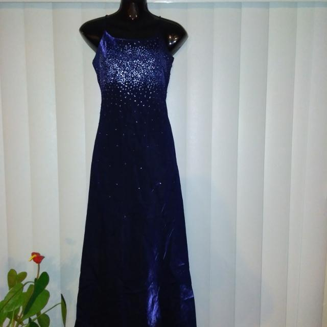 5328168de3a Best Euc Beautiful Midnight Blue Evening Gown for sale in Ajax ...