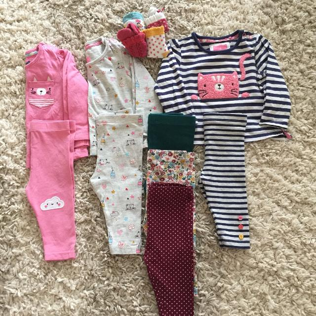 Find More Euc Cute Outfits And Matching Socks 3 6 Months For Sale