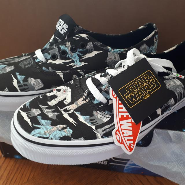 e28d7509a9b9e5 Find more Vans Authentic Star Wars Shoes for sale at up to 90% off