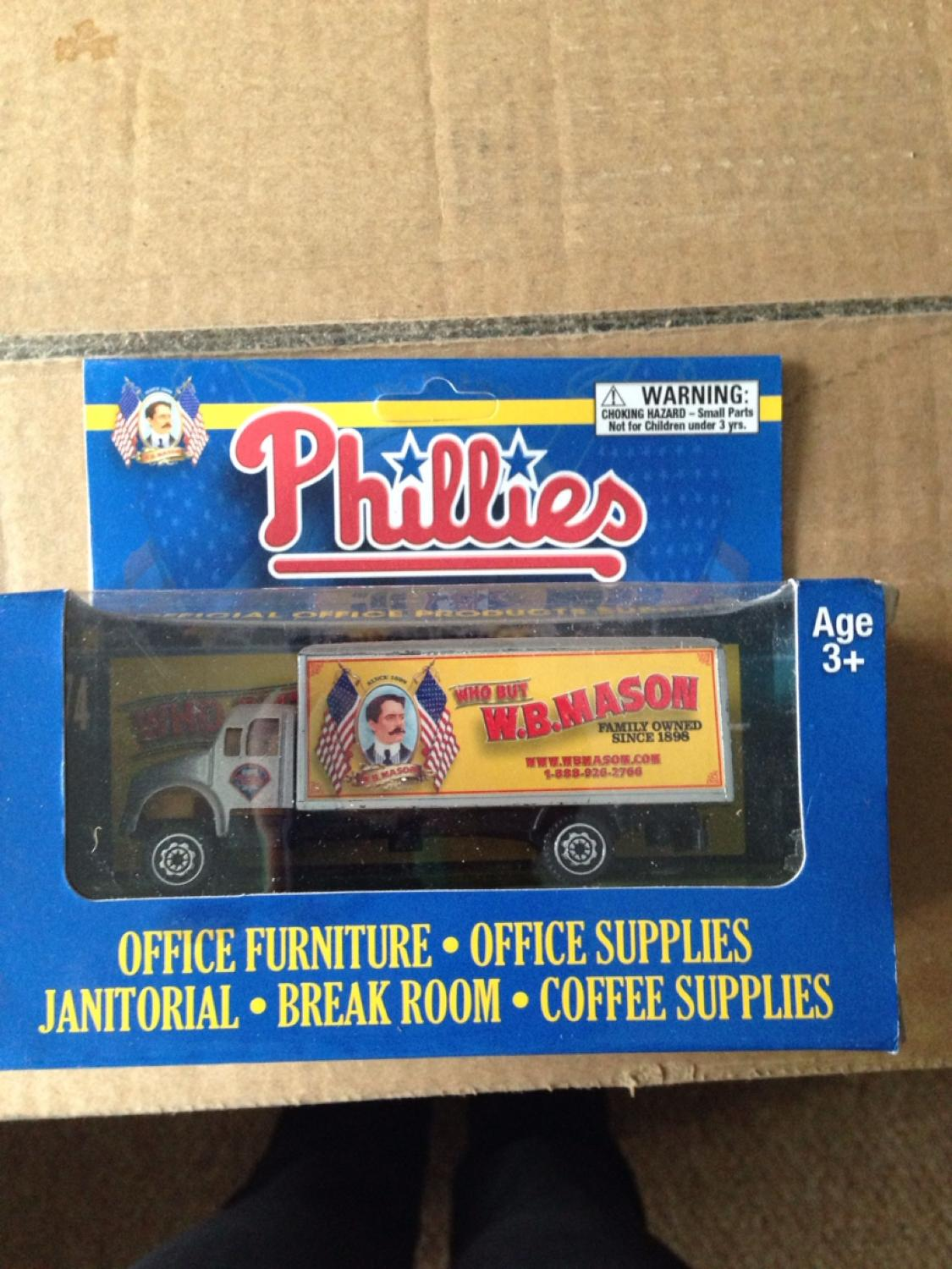 Phillies WB Mason trucks