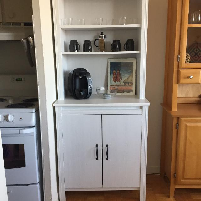 Brusali High Cabinet W Doors