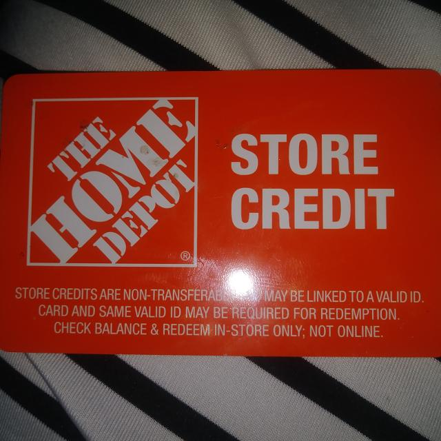 Best Home Depot Store Credit for sale in Lake Forest, California
