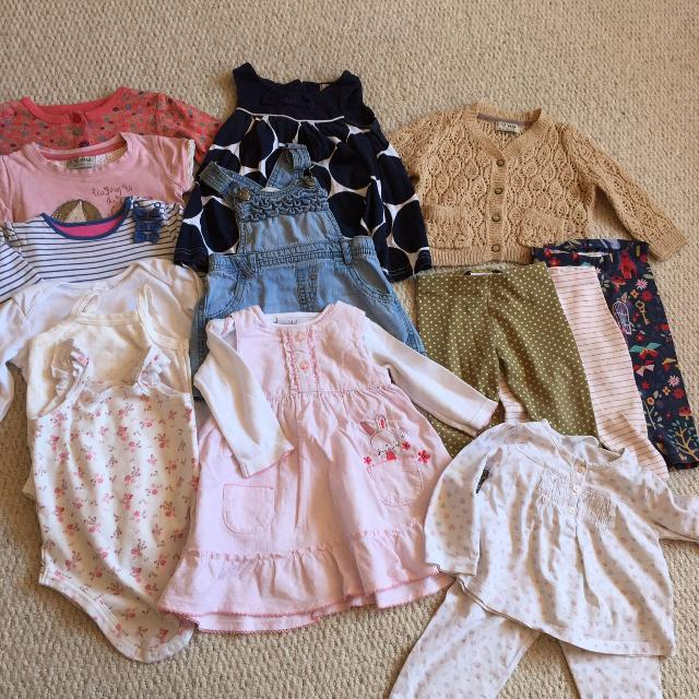 1fbebd1d8 Find more Baby Girls 6-9 Month Bundle, Next, White Company, Mini ...