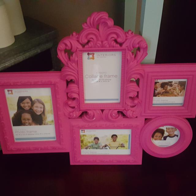 Find more New, Hot Pink Collage Frame for sale at up to 90% off