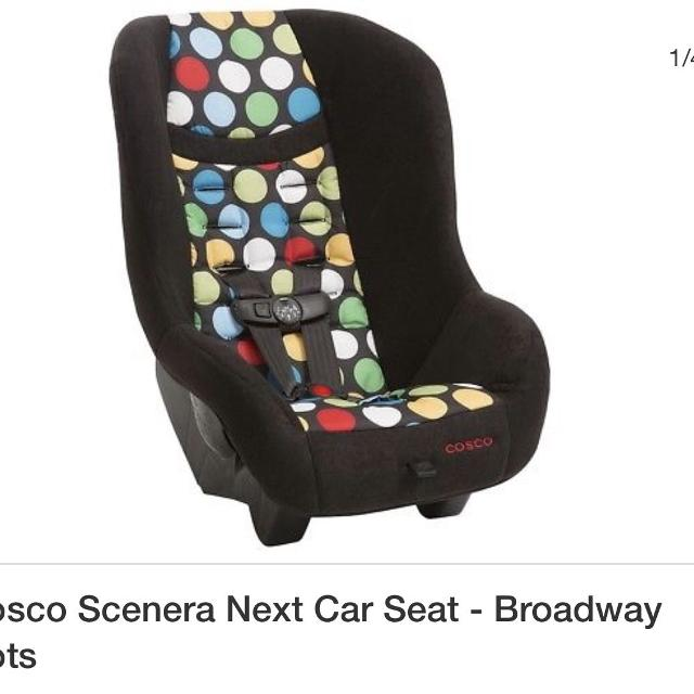 Cosco Scenera Next Broadway Dots Convertible Car Seat Brand New Never Used Manual
