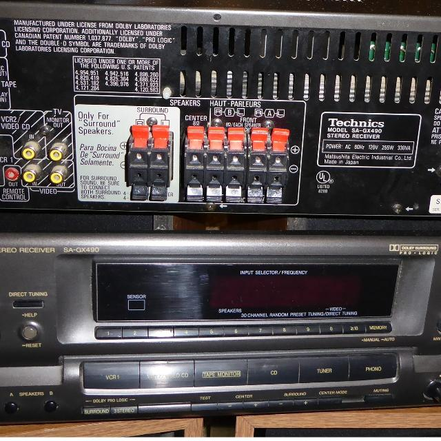 5 Channel Receiver/Amp Home Setup