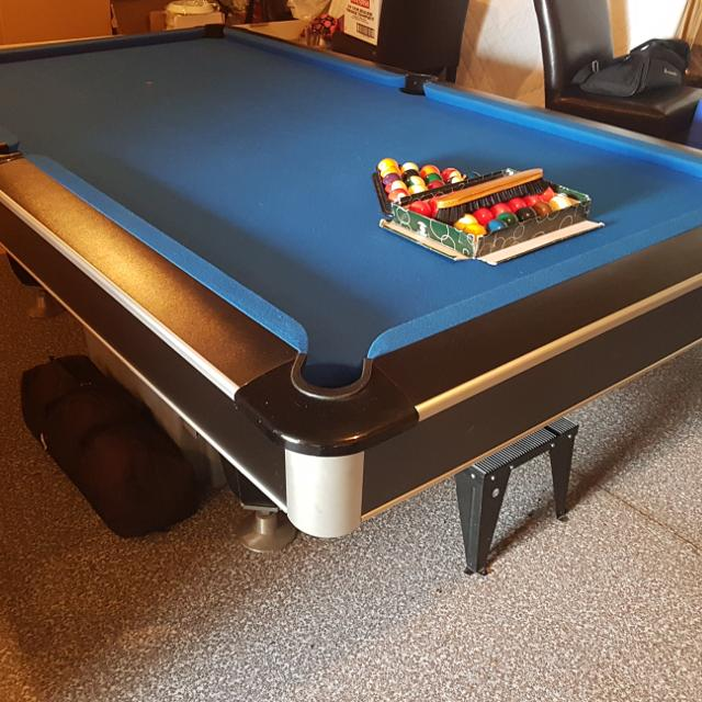 Find More National Slate Pool Table X Ft For Sale At Up To - 9 slate pool table