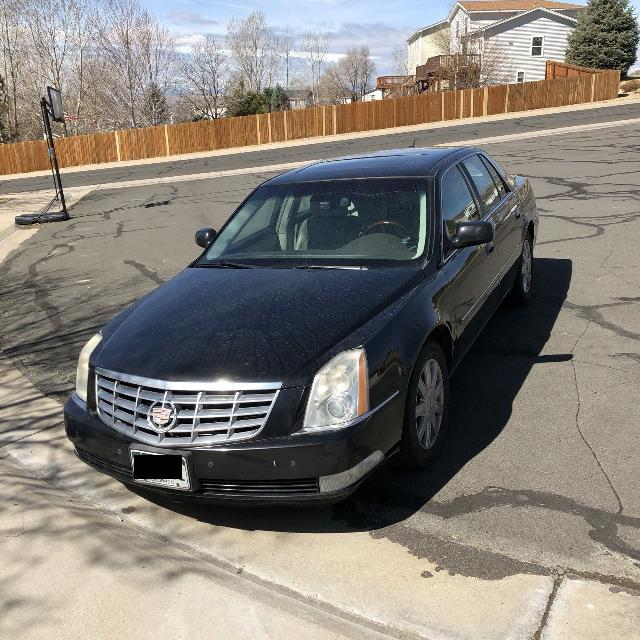 best 2007 cadillac dts low miles for sale in parker