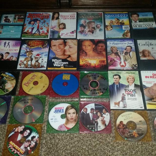Set Of 25 Dvds For Er If Picked Up At My Place
