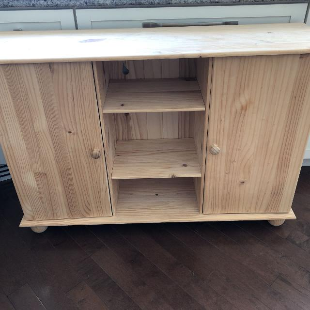 Find More Jysk Sideboard Euc Solid Pine For Sale At Up To 90 Off