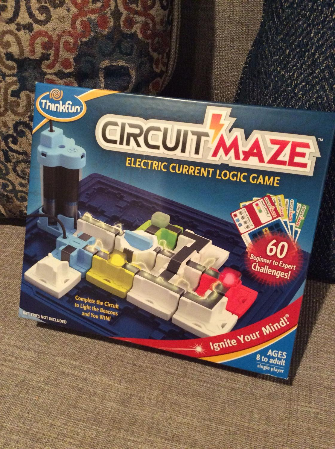 Find More Circuit Maze Electric Current Logic Game For Sale At Up To 90 Off