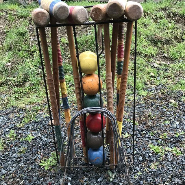 Find More Old School Croquet Set For Sale At Up To 90 Off
