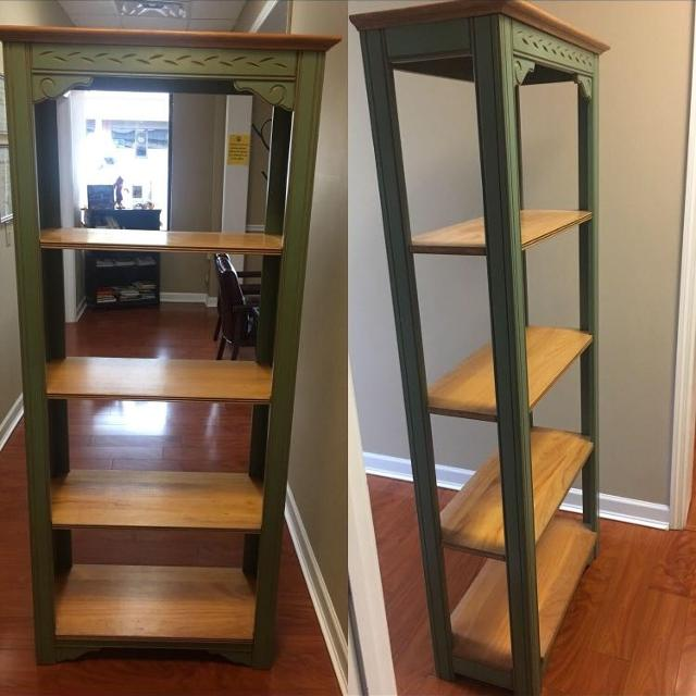 Solid Oak Book Shelf 6 Feet Tall 25 Wide