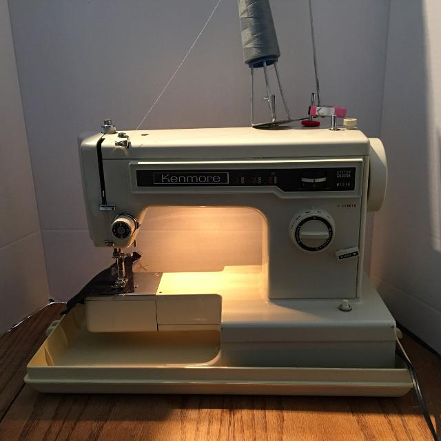 Best Sears Kenmore 40 40 Zig Zag Sewing Machine For Sale In Adorable Kenmore 158 Sewing Machine