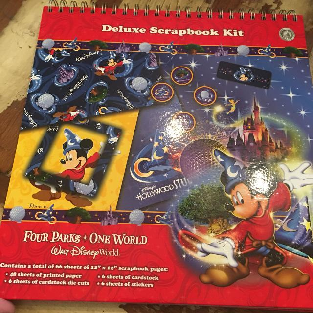 Find More Large Collection Of Disney Scrapbooking Supplies For Sale
