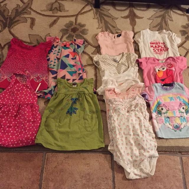 0a134e4cd Find more Huge Lot Of Baby Girl Clothes, Size 6-12 M By My Little ...