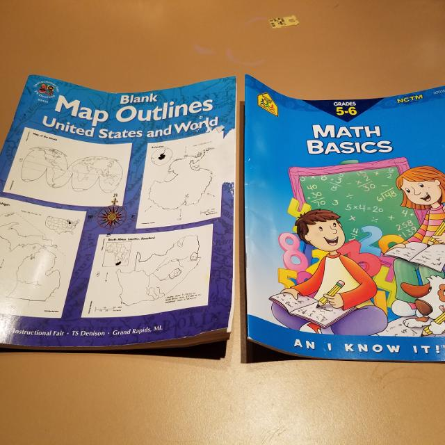 Best 5th 6th grade math workbook plus maps book for sale in 5th 6th grade math workbook plus maps book gumiabroncs Gallery
