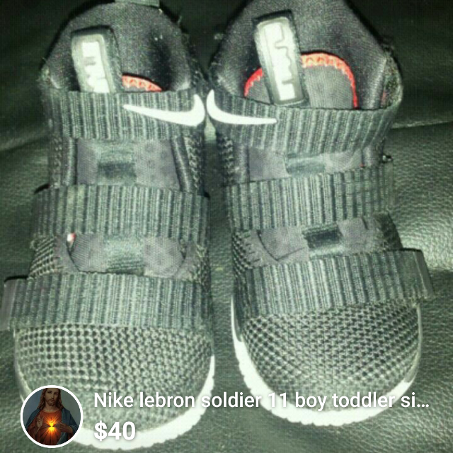 Find more Nike Lebron Soldier 11 Toddler Size 6 for sale at up to 90 ... f3087f5fe