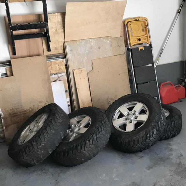 Find More 4 Jeep Mags 17 5x127 Offroad Tires Ets Trailmaster 265