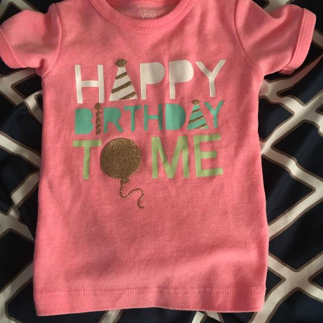 Best Happy Birthday To Me Shirt Pink Size 12 Months For Sale In Richmond Virginia 2019