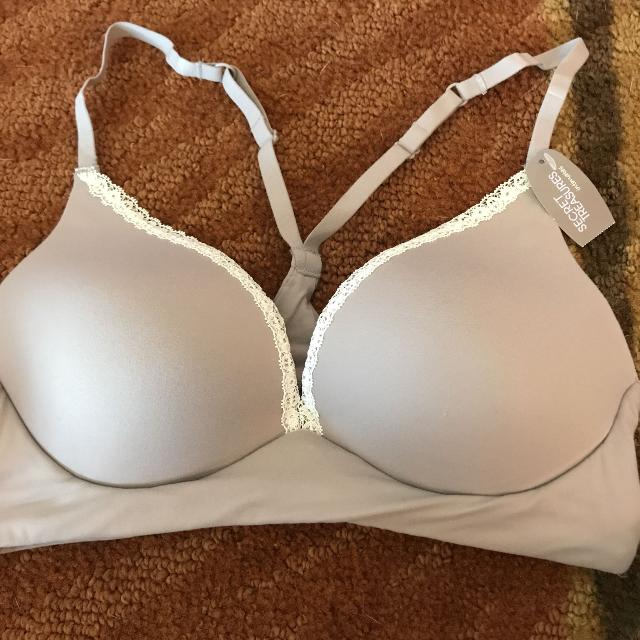 a60dbf6a58 Find more New With Tags Secret Treasures Wire Free Bra 34b for sale ...
