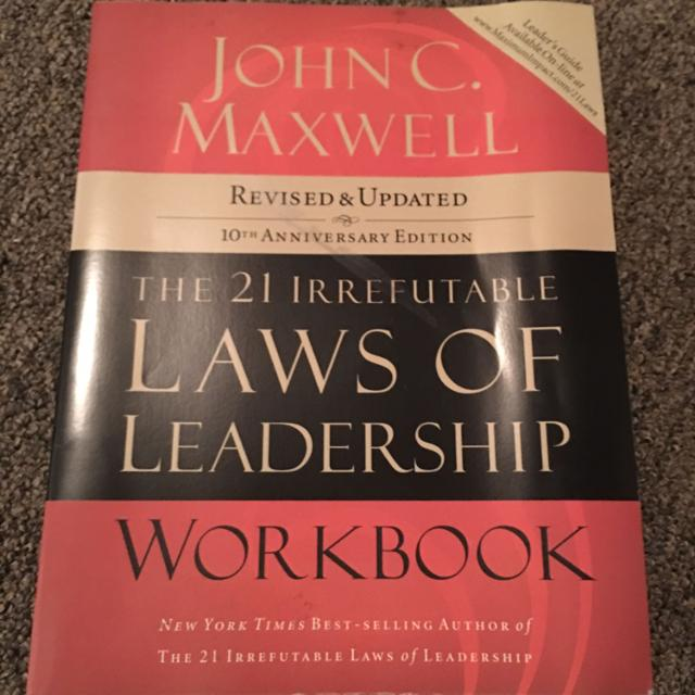 Find More The 21 Irrefutable Laws Of Leadership John C Maxwell