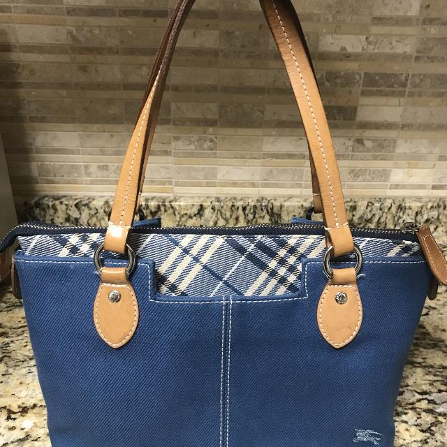 41075b91cc6d Find more Authentic Burberry Blue Label Small Tote Handbag Purse for ...