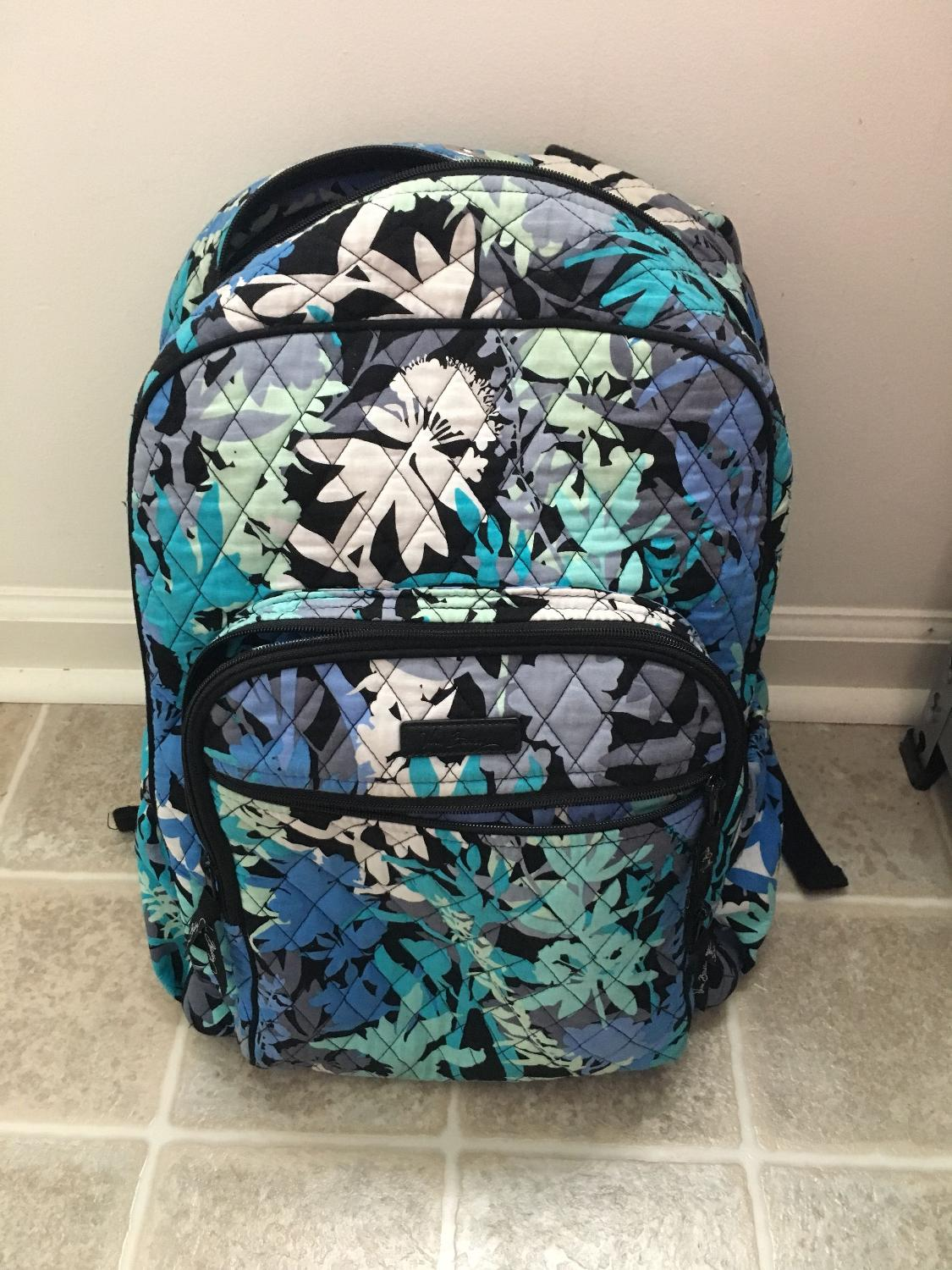 Best Vera Bradley Campus Tech Backpack For Sale In Savannah