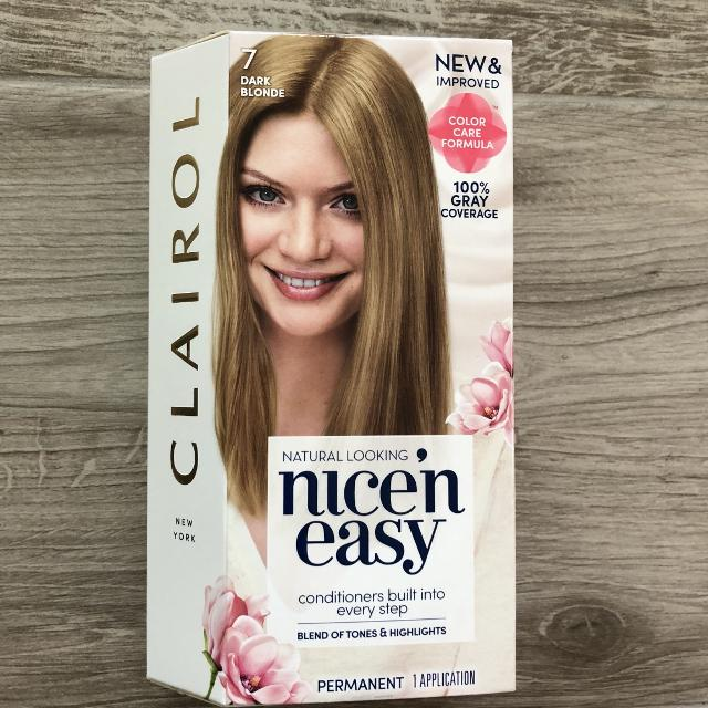 Best new clairol nice n easy hair color in 7 dark blonde for sale in new clairol nice n easy hair color in 7 dark blonde solutioingenieria