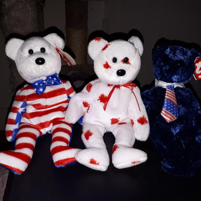 Best Ty Canada And Usa Beanie Babies for sale in Victoria 75b328e8b12