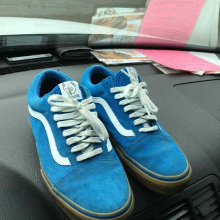 fcd388b0583 Barely worn sz 8.5 suede ODD FUTURE SYNDICATE VANS