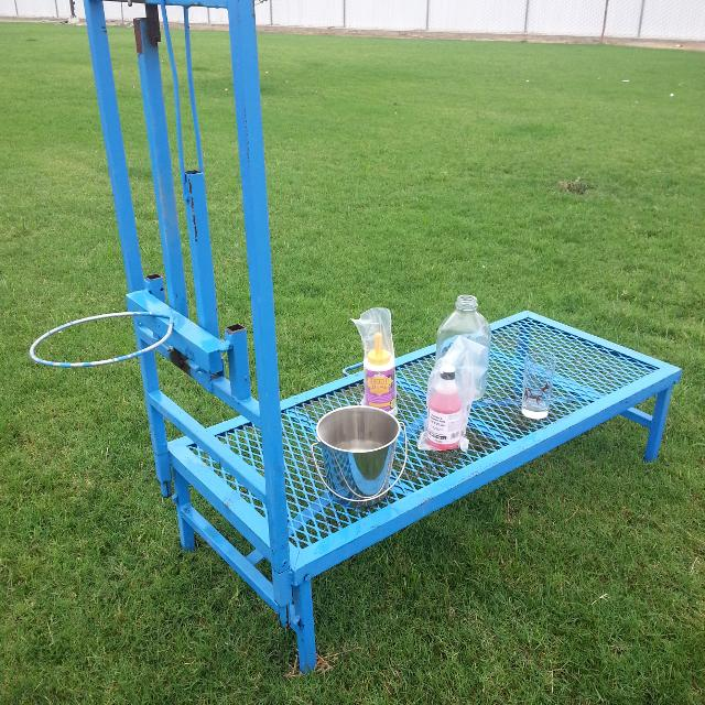Best Heavy Duty Adjustable Goat Milking Stand Stanchion For Sale In Visalia California For 2020