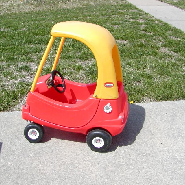Find More Little Tikes Cozy Coupe Car Red Yellow Outdoor Toy For