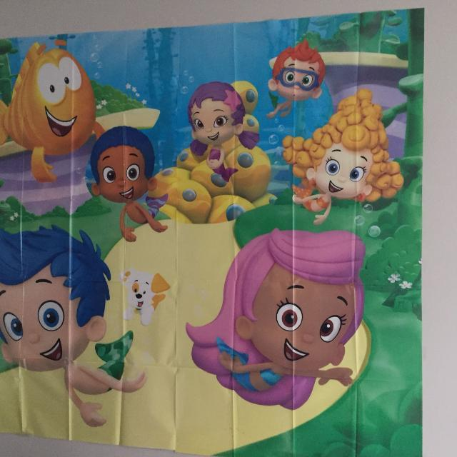 Toddler Birthday Decorations Bubble Guppies