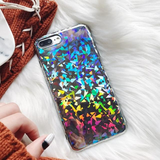 a4968f28908de New Holographic prism case