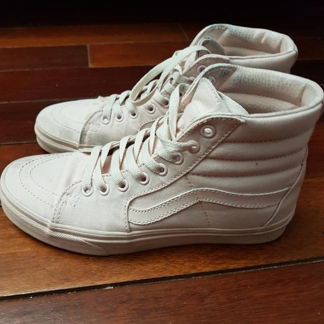 c3b2e8c537 Find more Vans Sneakers Light Pink Size 8 Womens for sale at up to ...
