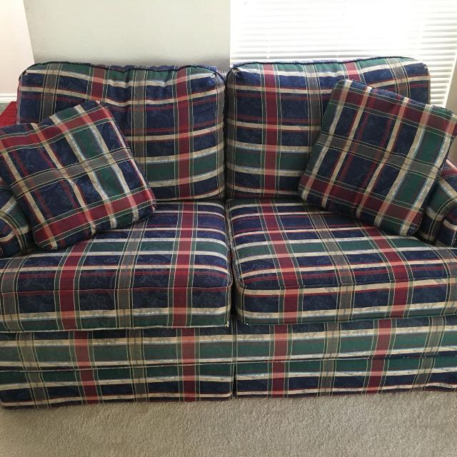 La Z Boy Sleeper Sofa and Love Seat