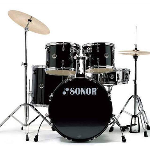2e67ac82836f Best Sonor Force 507 Drum Kit (black) for sale in Kitchener