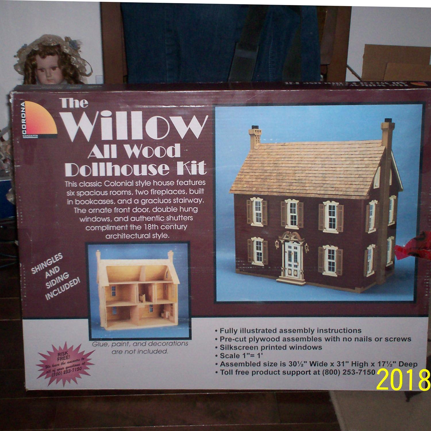 The Willow Dollhouse Kit