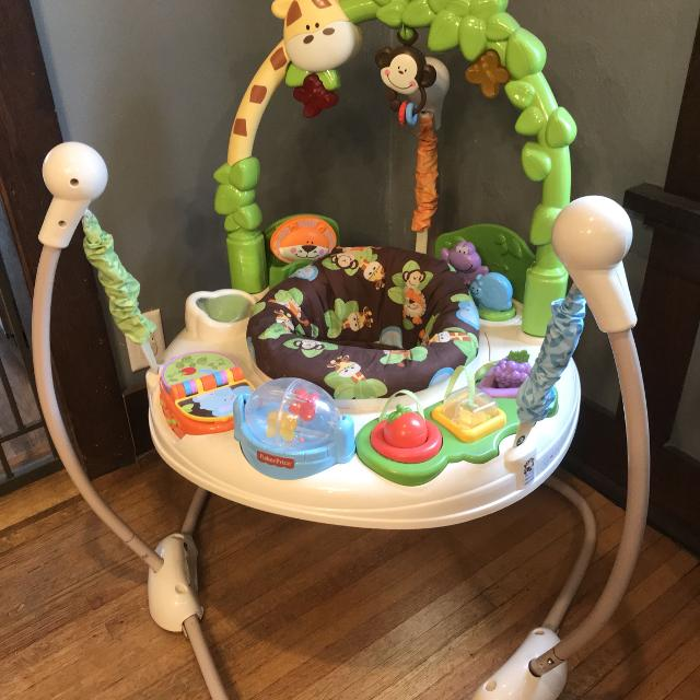 Find more Fisher Price Jungle Jumparoo (infant & Baby Toy) for sale ...
