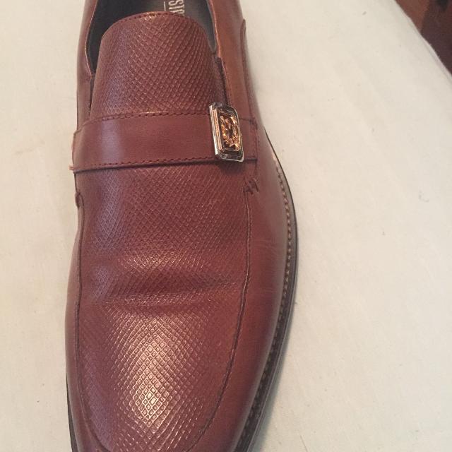 Mens cognac shoes 11m