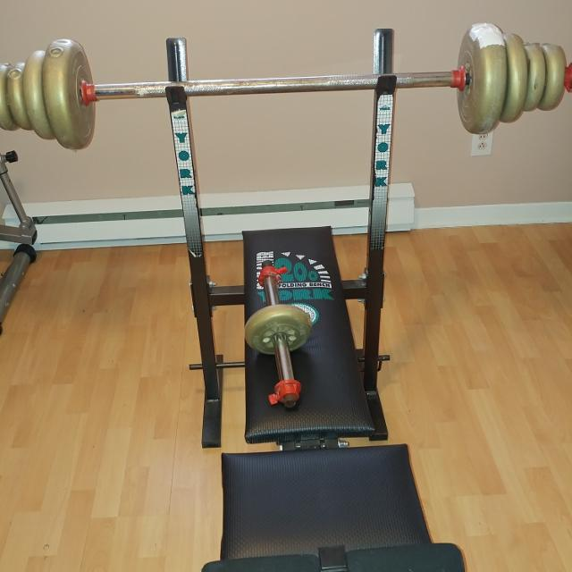 Find More Work Out Bench York 200 Folding Bench Bench Press For Sale