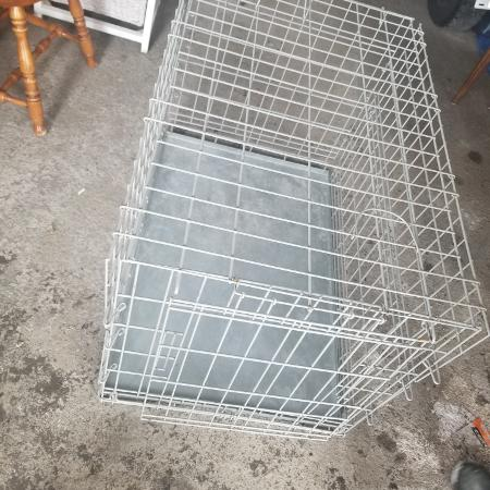 Used, Fordable Dog cage size medium/ large for sale  Canada