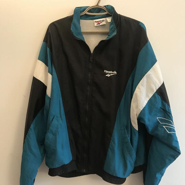 hot product the cheapest official photos Vintage Reebok Windbreaker
