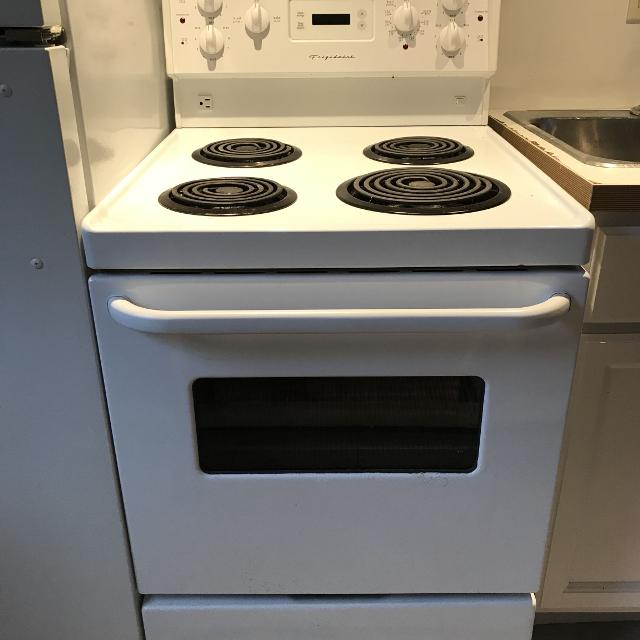 White Frigidaire Apartment Size