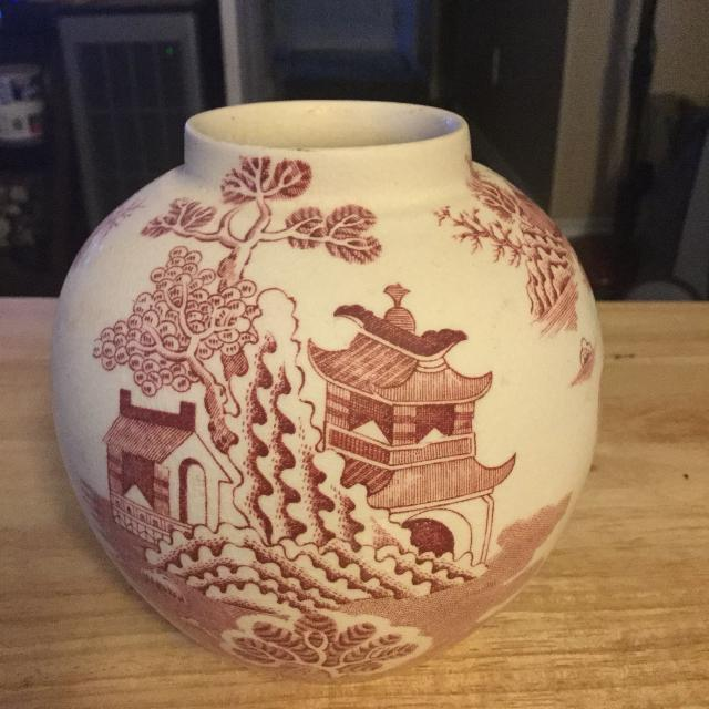 Best Vintage Masons Patent Ironstone China Vase For Sale In